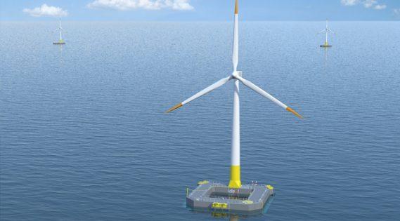 La première éolienne marine mouillera bientôt au large du Croisic